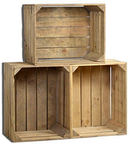 vintage holzkiste alte obstkiste diy einfach selber machen. Black Bedroom Furniture Sets. Home Design Ideas