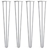 4 x Hairpin Legs - Haarnadel Tischbeine - Farben & Größen wählbar - 10cm bis 86cm Höhe