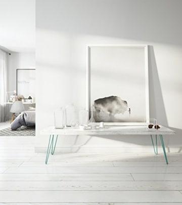 4 x Hairpin Legs - Haarnadel Tischbeine - Farben & Größen wählbar - 10cm bis 86cm Höhe-4
