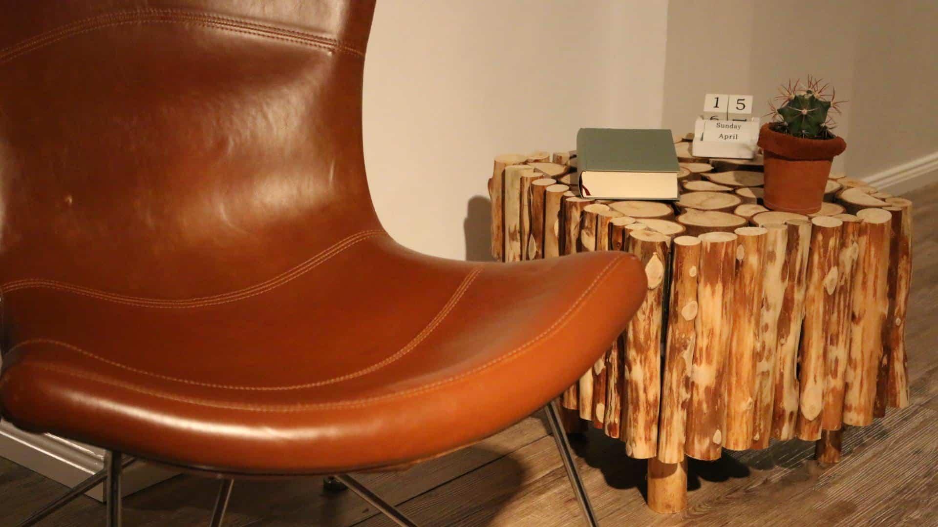 Beistelltisch aus altholz selber bauen diy ideen for Beistelltisch selber bauen