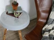 Tisch aus Beton DIY Idee