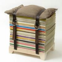 DIY Ideen - Bücher als Sitz