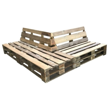Ecklounge Palettenlounge Sofa Palettenmoebel