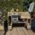 Europaletten Grilltisch mit Kuehlbox Palettenmoebel