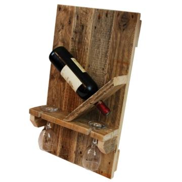 Flaschenregal Paletten Weinregal aus Europaletten