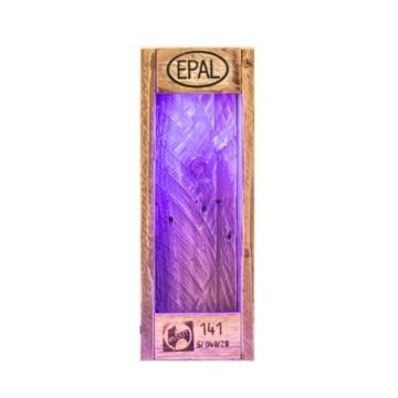 Flaschenriegel aus Europaletten mit Beleuchtung