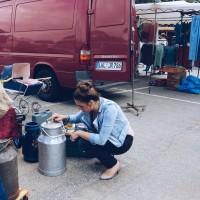 Flohmarkts-Haul-Saris-Garage-DIY