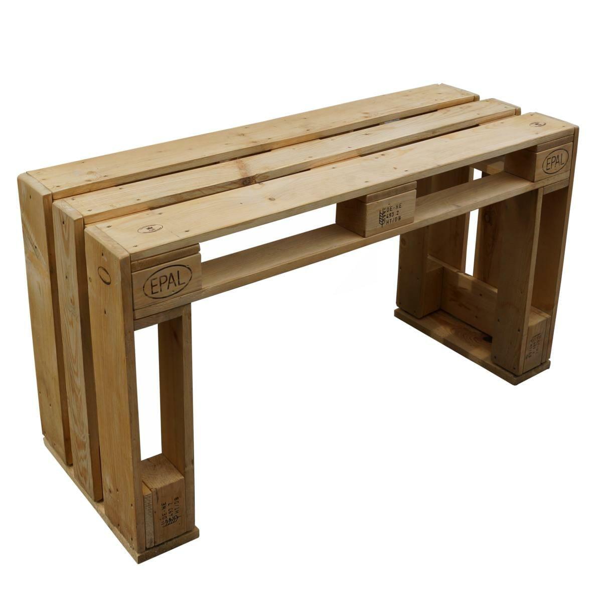 Gartenmöbel aus Europaletten- Sitzbank aus Paletten-2