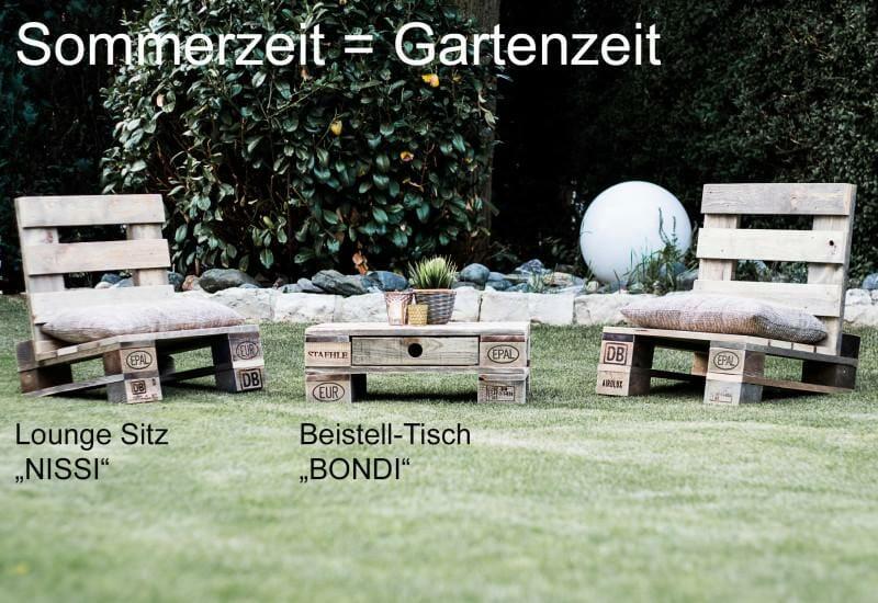 Gartenmöbel aus Paletten - Palettenmöbel