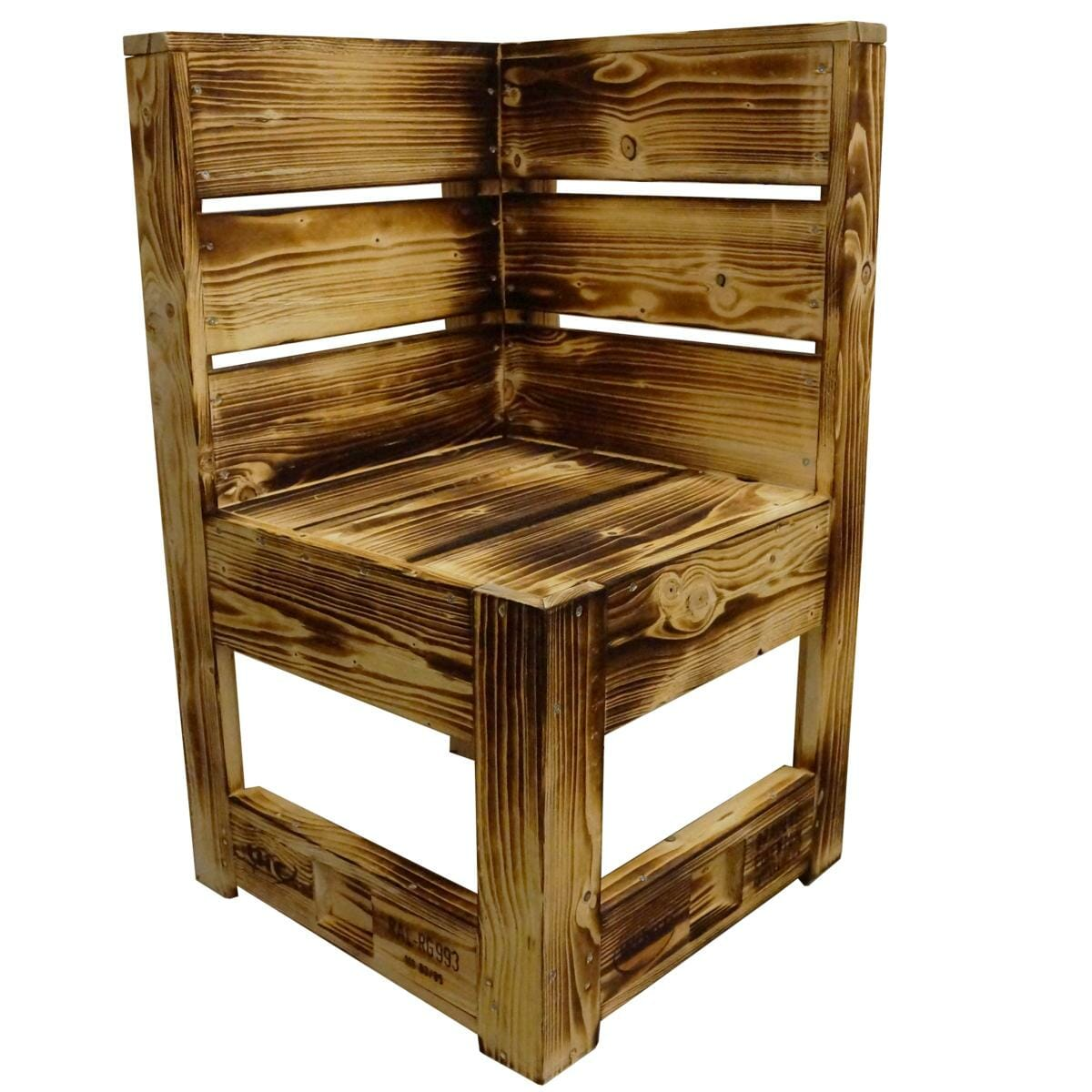 geflammte sitzecke bank aus paletten europaletten. Black Bedroom Furniture Sets. Home Design Ideas