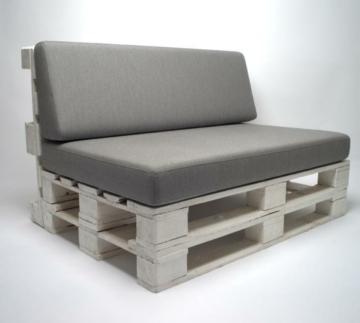 High Premium Palettenkissen Lounge Set
