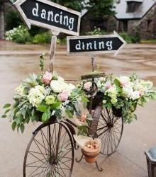 Hochzeit - Dekoration - Vintage