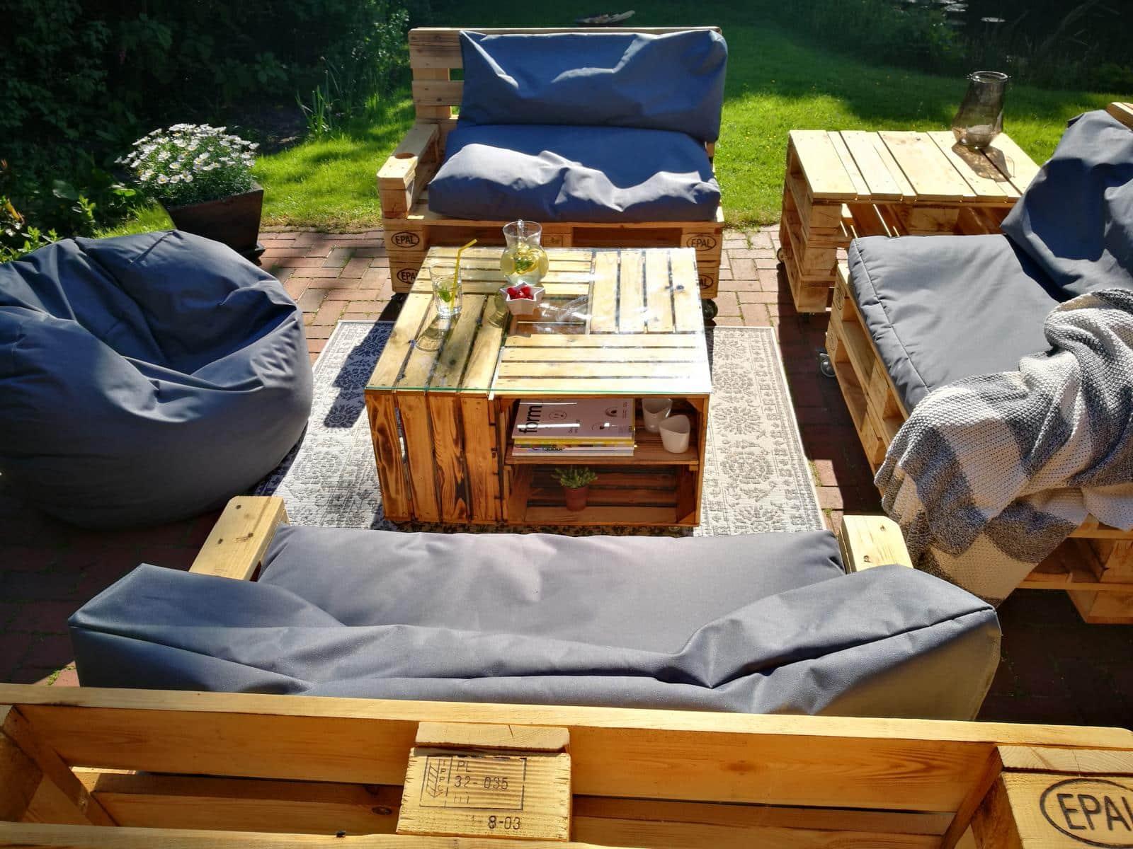 Holzkisten-Tisch-Beistelltisch-Couchtisch