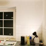 Küche selber bauen- Tapeten abreißen - DIY