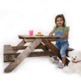 Kinder Sitzbank aus Europaletten Palettenmoebel