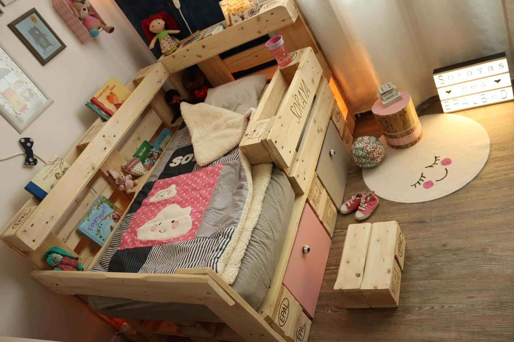 Kinderzimmer diy deko gestalten