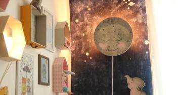 Kinderzimmerlampe diy idee