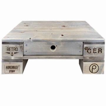 Kleiner Loungetisch aus Europaletten Palettenmoebel