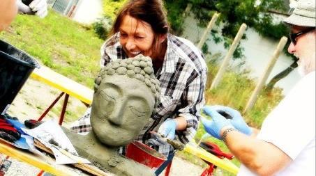 Knetbeton Skulptur