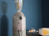 betonlampe lampe aus beton selber machen anleitung diy. Black Bedroom Furniture Sets. Home Design Ideas