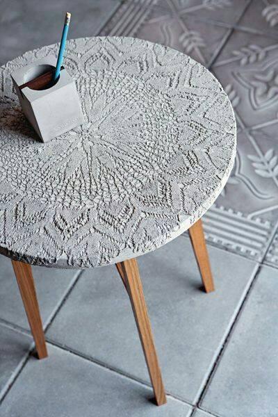 Kreativ Beton- Tisch - Kreativbeton
