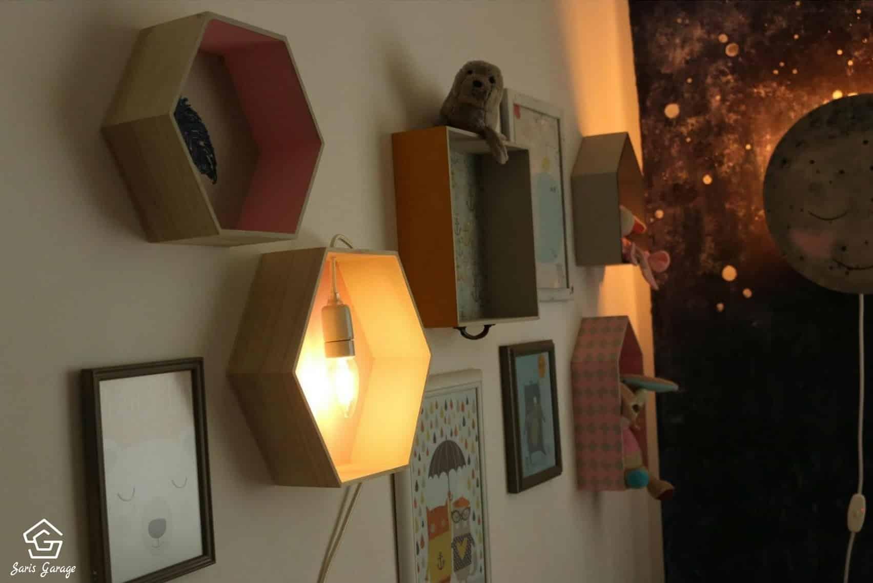 Lampe für Kinder selber machen