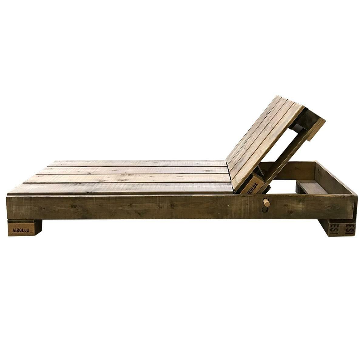 Berühmt Liege aus Paletten - Gartenliege selber bauen & kaufen | Palettenmöbel &SW_45