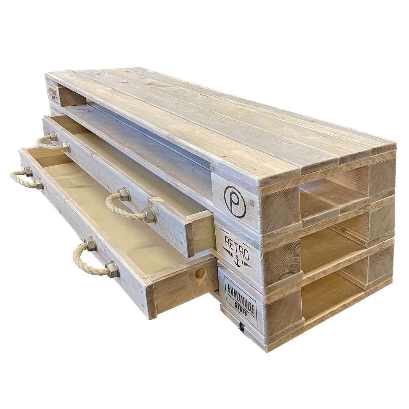 Schrank Aus Europaletten : lowboard kommode aus europaletten europaletten m bel shop ~ Watch28wear.com Haus und Dekorationen