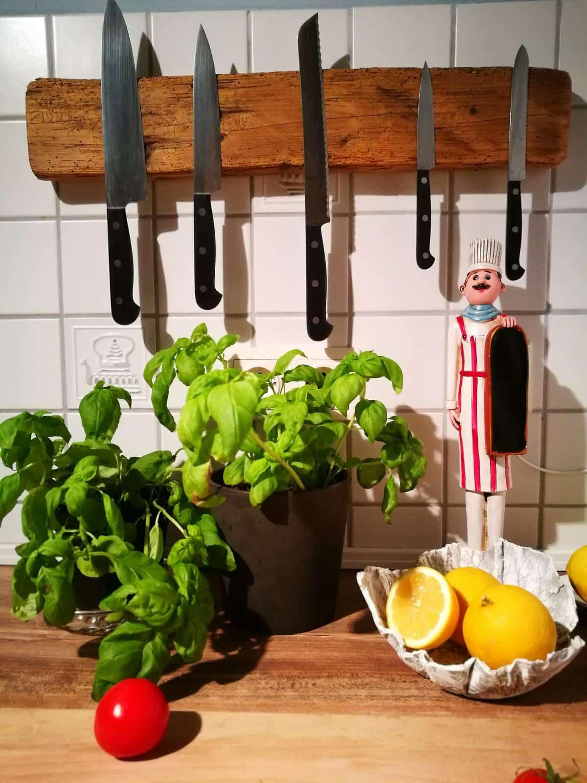Magnetleiste Für Messer DIY Idee