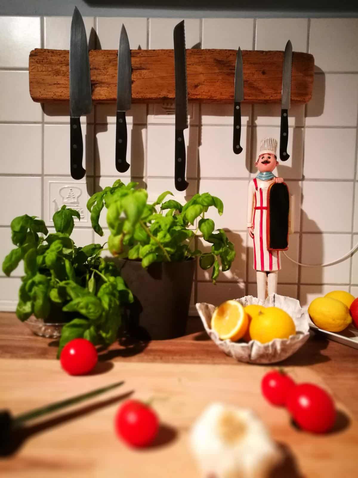 Messer Magnetleiste Idee selber machen