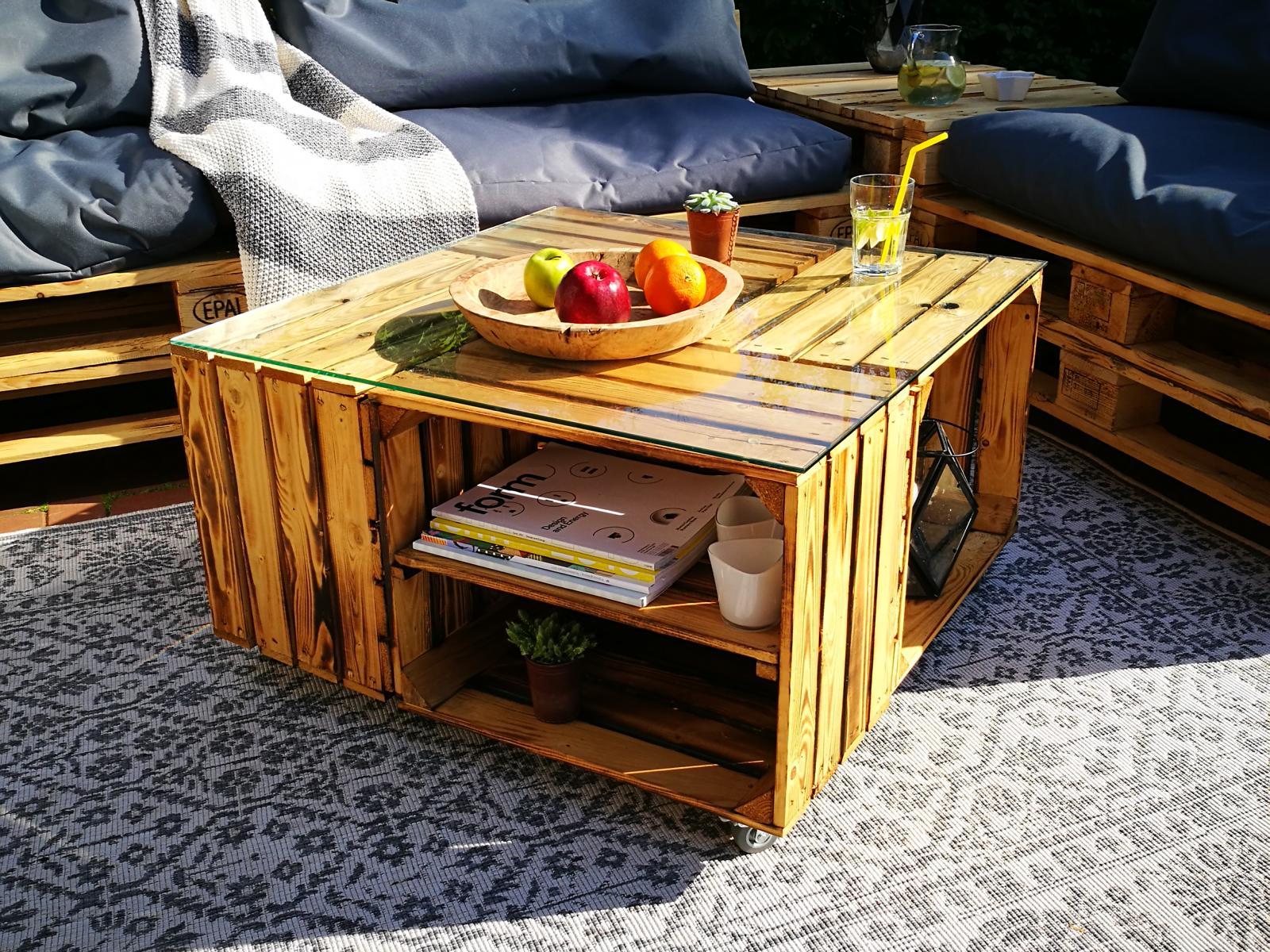 Obstkisten-Weinkisten-Möbel