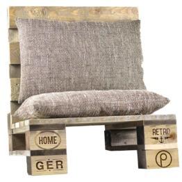 Paletten Lounge Sitz aus Europaletten Palettenmoebel