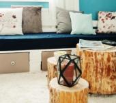 DIY- Sofa aus Paletten