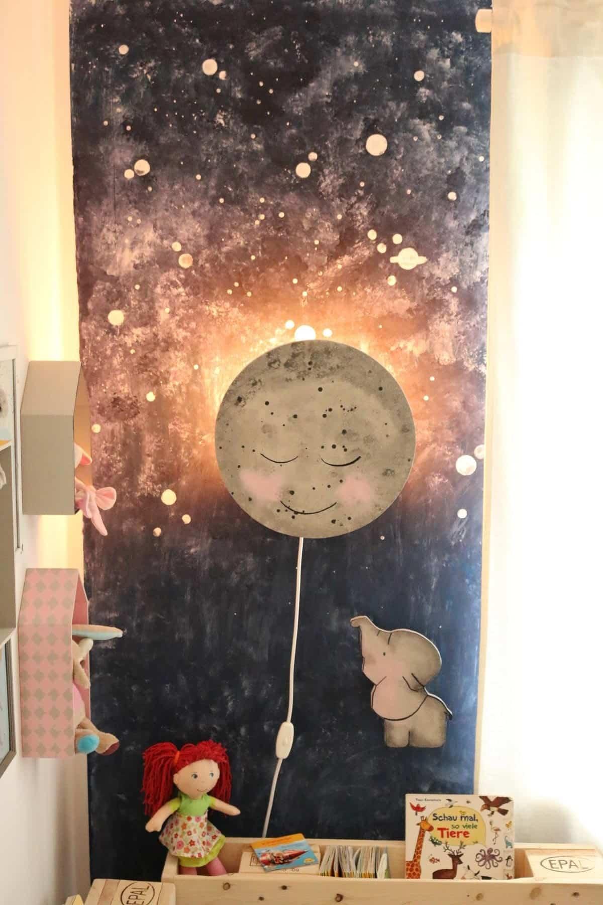 Kinderlampe im Kinderzimmer