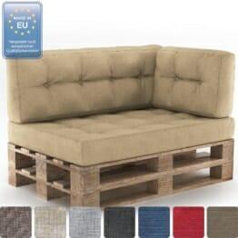 ᐅ Sofa aus Europaletten selber bauen & kaufen | Palettensofa Shop
