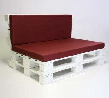 Palettenlounge mit Sitzkissen Palettenmoebel