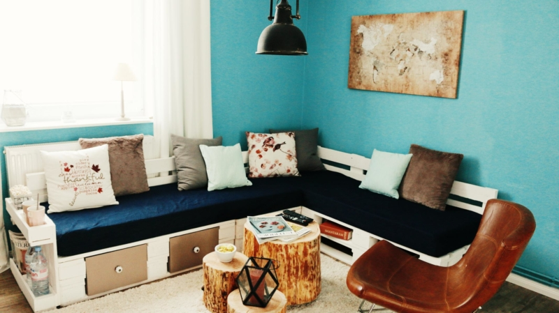 Palettensofa - Lounge - Couch