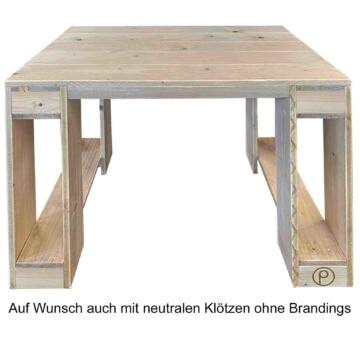Schreibtisch aus Europaletten Palettenmoebel Palettentisch