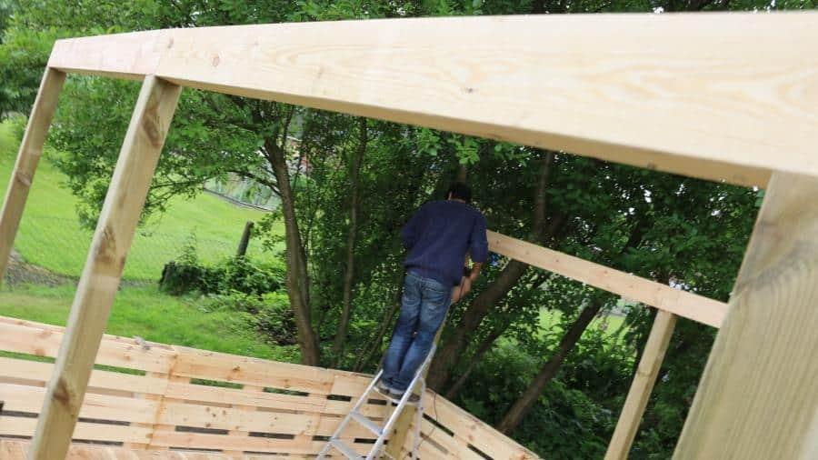 Terrasse Aus Paletten ᐅᐅ terrasse aus paletten selber bauen ᐅ europaletten diy anleitung