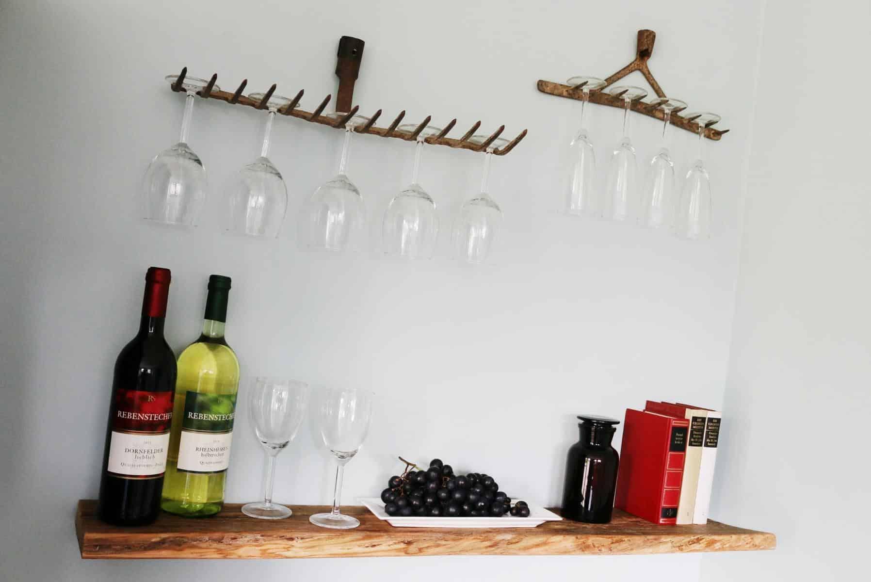 Weingläser aufhängen-Weinglashalter