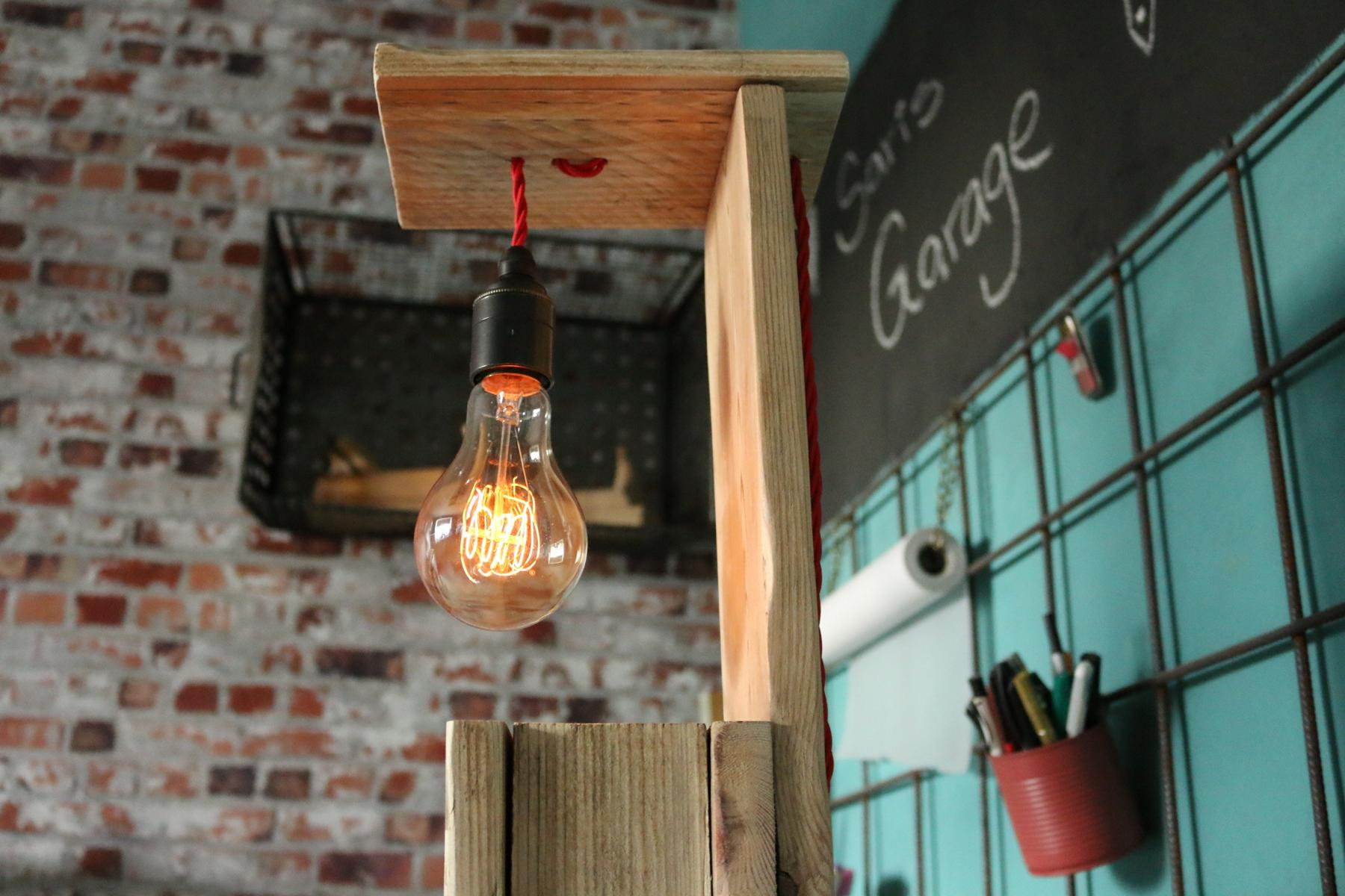 Vintage Lampe-Epal