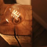Vintage Lampe-Vintage Lampen-Vintage Glühbirne-Upcycling-DIY