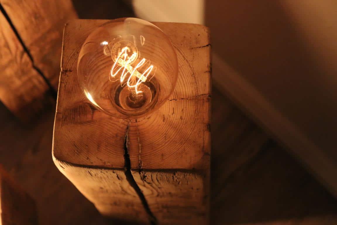 Vintage Lampe-Glühbirne-Upcycling-DIY
