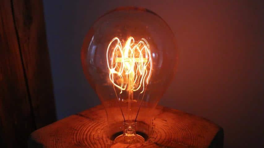 Vintage Lampen-Vintage Glühbirne
