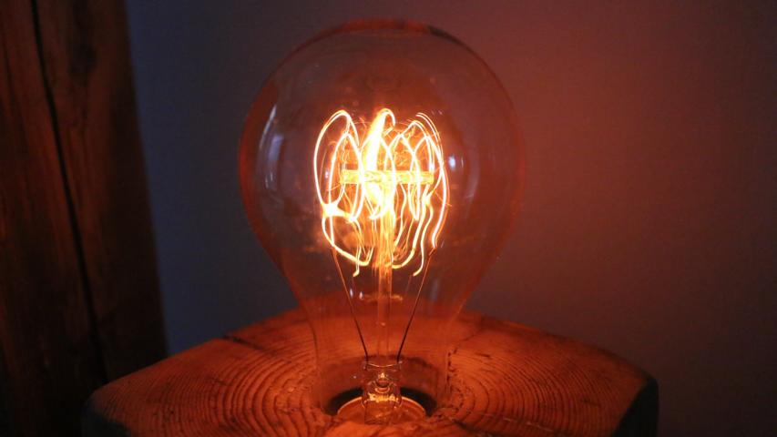 Vintage Glühbirne- Lampen