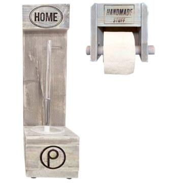WC Set aus Europaletten Palettenmoebel