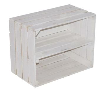 Weinkiste weiß-Obstkisten-weiße-Holzkiste