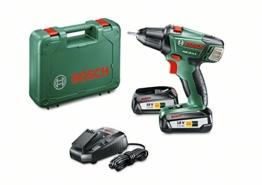 Bosch Akkuschrauber DIY mit Werkzeugkoffer
