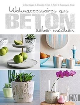 Buch-Beton Deko- Wohnaccessoires aus Beton