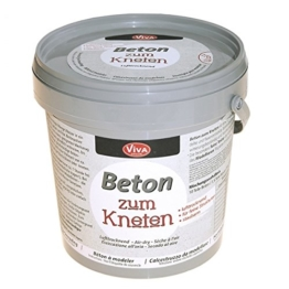 Knetbeton- Beton zum Kneten von Viva Decor